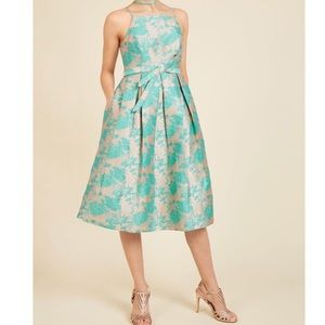 Acua ModCloth Penchant for Opulence A-Line Dress